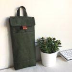Custom Case: 60% Mechanical Keyboard Sleeve in Olive Green