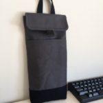 Custom Case: 60% Mechanical Keyboard Sleeve In Charcoal Grey and Black