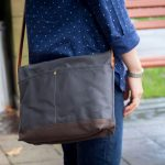 New: Satchels Are In The Shop | Waxed Canvas and Leather Shoulder Bag | 4 Colours
