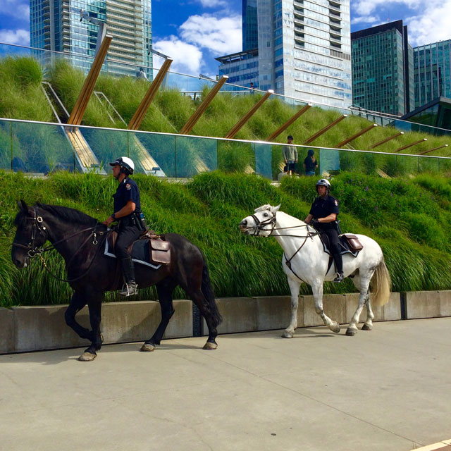 modern-coup-vancouver-convention-centre-mounted-police