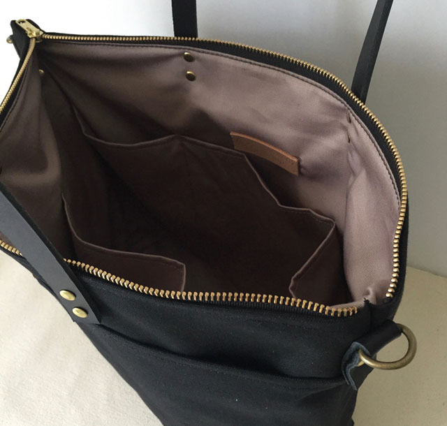 modern-coup-waxed-canvas-leather-bags-carrier-tote-with-front-pockets-black-interior-pockets