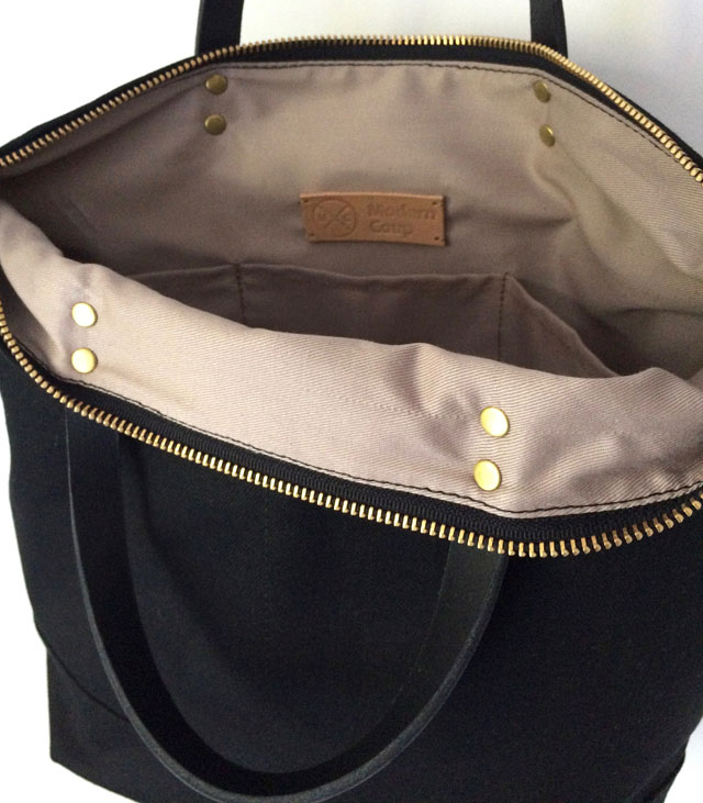 2e0d397f95 modern-coup-waxed-canvas-leather-bags-custom-commuter-bag-front-pockets- black-lining