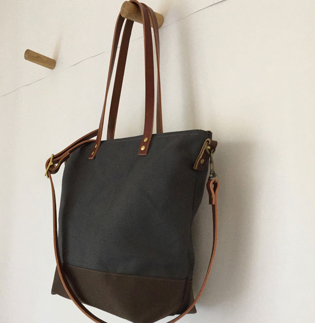 Custom Bag: Commuter Bag with Long Shoulder Tote Straps and A ...