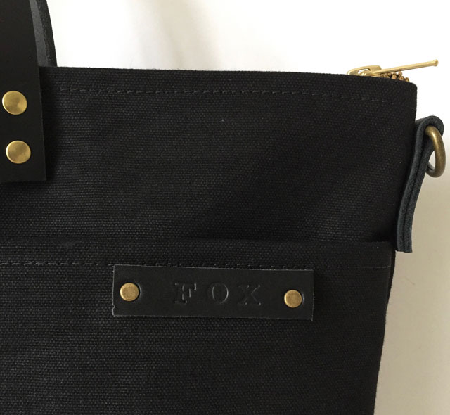 modern-coup-waxed-canvas-leather-bags-custom-utility-tote-front-pockets-personalization-all-black-monogram