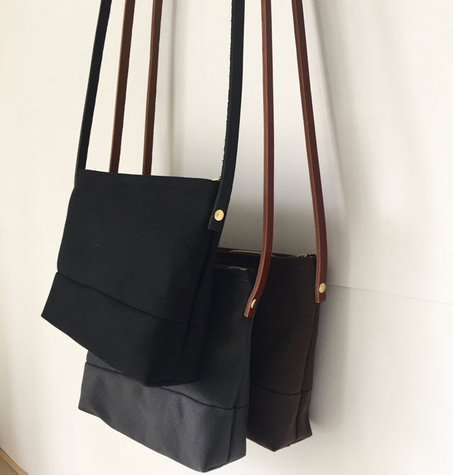 modern-coup-waxed-canvas-leather-bags-pouchette-purse-black-grey-brown