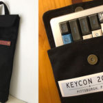 All Black TKL Carry Case for a Duck Jetfire and 65% Mechanical Keyboard Sleeve for a RAMA M65-A Attending Keycon 2018